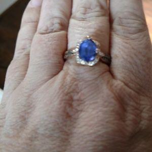 Levian Tanzanite and Diamond ring
